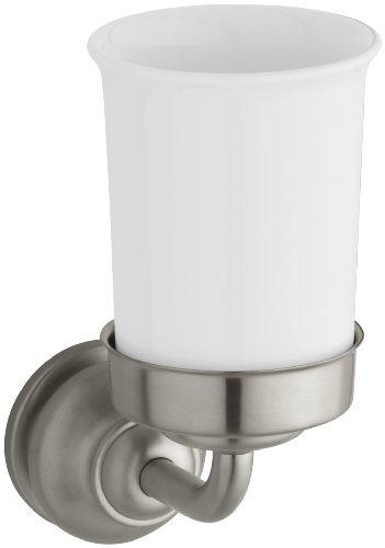 KOHLER K-12161-BN Fairfax Tumbler and Holder Vibrant Brushed Nickel