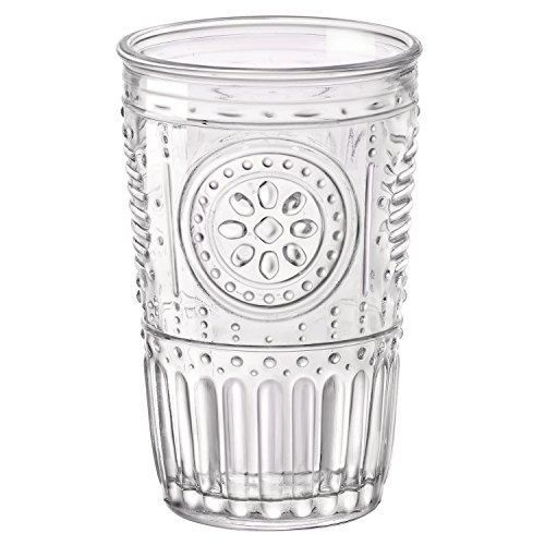 Bormioli Rocco Romantic Water Glass 1025 oz Set of 4