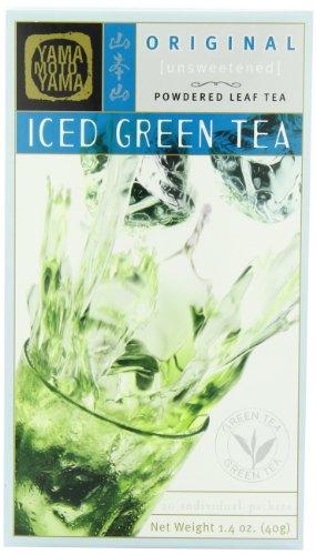 Yamamotoyama Iced Green Tea Unsweetened 14 Ounce Box