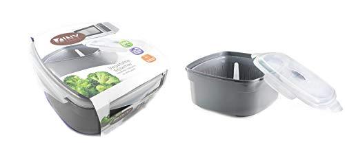 Microwave Vegetable Steamer Veggie Steamer