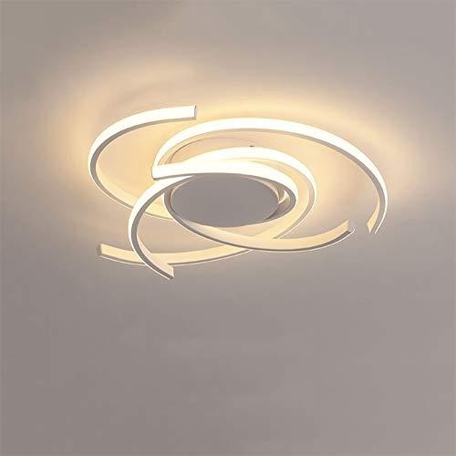 LightInTheBox LED Geometrical Flush Mount Lights Painted Finishes Ceiling Light Aluminum Silica Gel Lighting Fixture for Living Room White Warm White