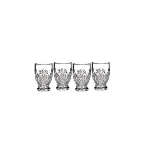 Pineapple Hospitality Single Malt Glass Set of 4