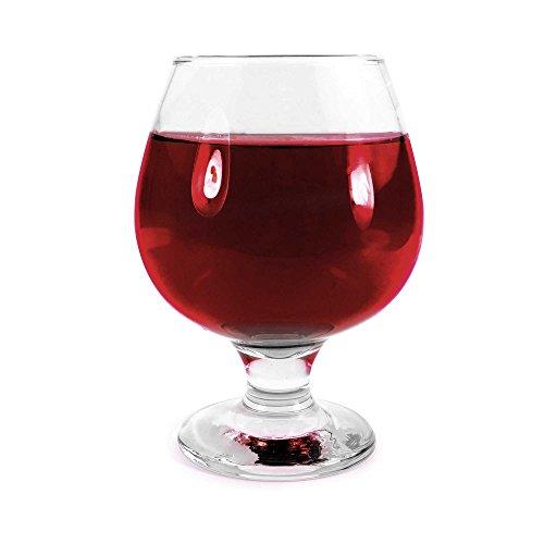 Tuff-Luv Original CognacBrandy Snifter Glass - 390ml 137oz