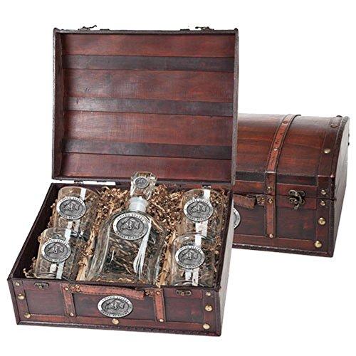 Naval Academy Midshipmen Liquor Decanter Set