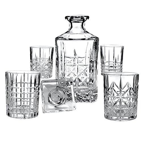 Personalized Crystal Duke of Kent Whiskey Liquor Decanter Set