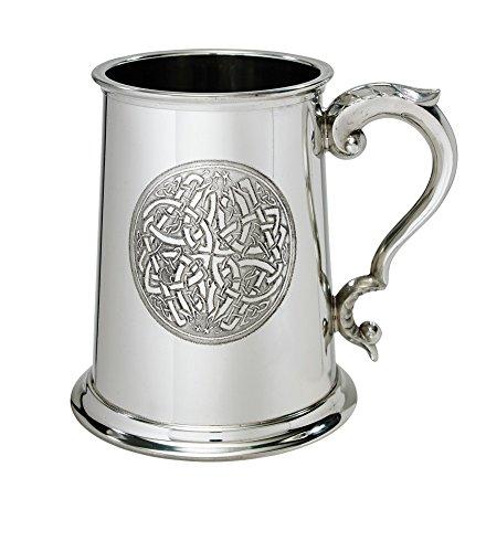 Wentworth Pewter Celtic circle 1 Pint Pewter tankard