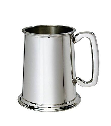 Wentworth Pewter - Plain Standard 1 pint Pewter Tankard