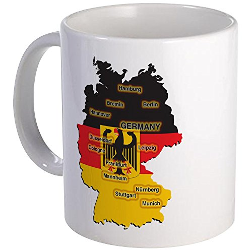 CafePress Germany Map Mug Unique Coffee Mug Coffee Cup