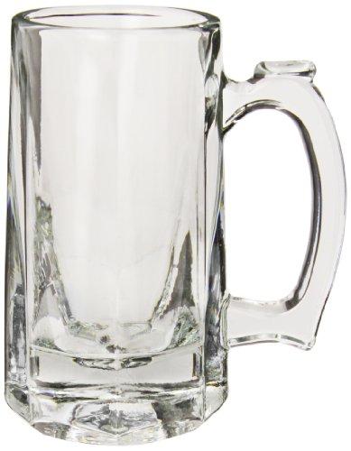 Anchor Hocking 1170U 4-78 Diameter x 5-78 Height 10 oz Tankard Beer Mug Case of 12