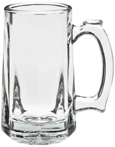 Anchor Hocking 1172U 4-78 Diameter x 5-78 Height 12 oz Tankard Beer Mug Case of 12