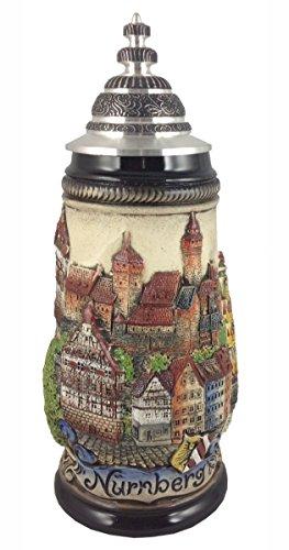 German Beer Nuremberg 05 liter tankard beer mug ZO 1781906