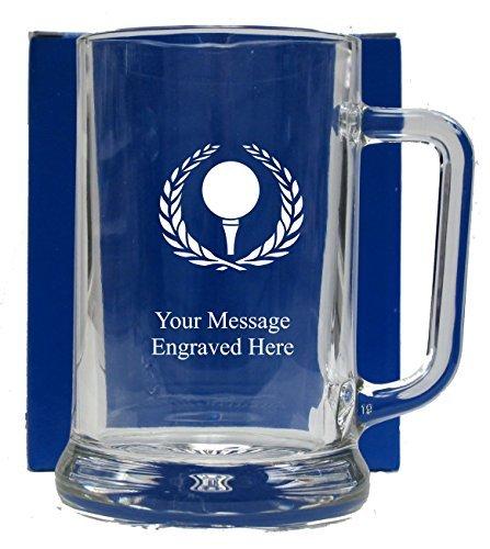 Engraved Golf Pint Glass Tankard Best Mug Gifts Funny Mug Present