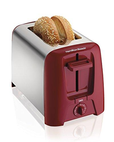 Hamilton Beach 22623 Cool Wall 2-slice Toaster, Red