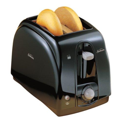 Sunbeam 3910-100 2-slice Wide Slot Toaster, Black