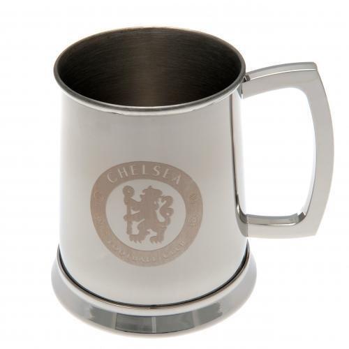 Chelsea FC Stainless Steel Tankard