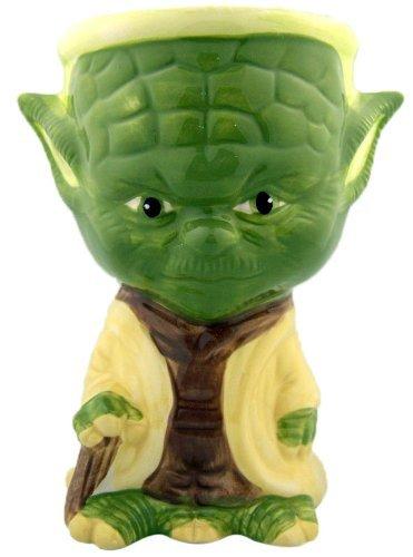 NEW Painted Rare STAR WARS Collectible Ceramic Mug Cup Gift Yoda Goblet 5 34