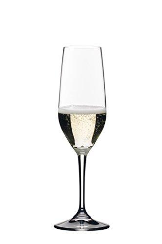 Riedel Vivant Champagne Flutes Set of 4 Clear