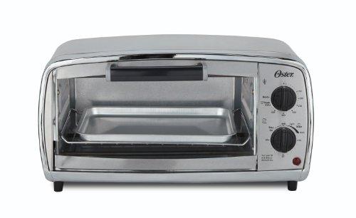 Oster Tssttvvgs1 4-slice Toaster Oven, Stainless Steel