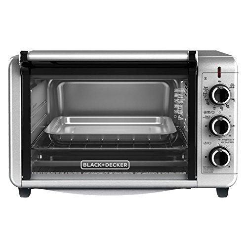 Black+decker To3210ssd Countertop Convection Toaster Oven, Silver