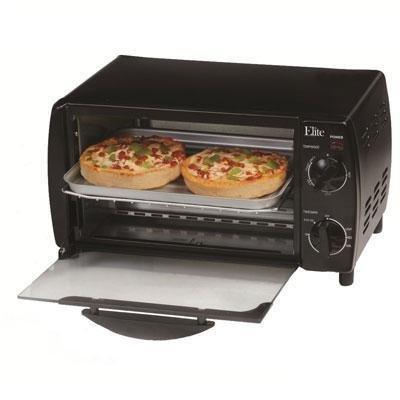 Maximatic Eka-9210xb 4-slice Toaster Oven Broiler, Black