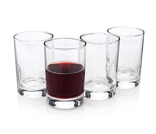Bàcaro di Veneto Italian Stemless Wine Glasses Set of 4