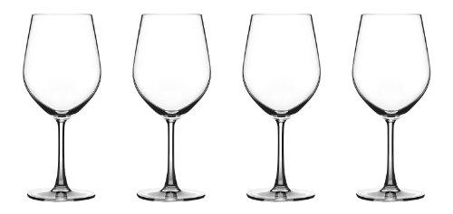Cuisinart CG-02-S4AP Advantage Glassware Essentials Collection All PurposeRed Wine Glasses Set of 4