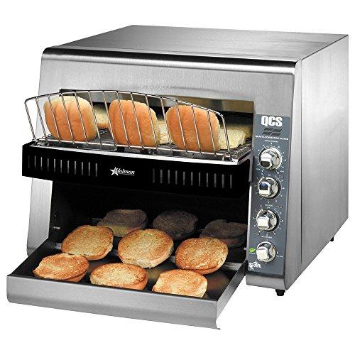 Star Qcs3-1400bh High Volume Conveyor Electric Bun Toaster