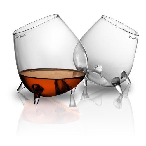 Final Touch Relax Cognac Glass Set of 2
