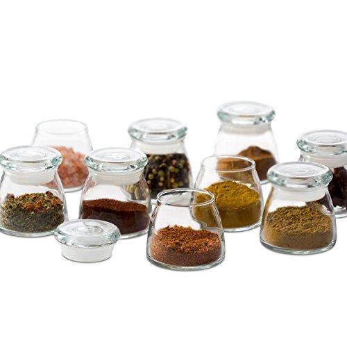 Libbey Vibe 12-piece Mini Glass Jar Set with Lids