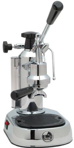 La Pavoni EPC-8 Europiccola 8-Cup Lever Style Espresso Machine Chrome
