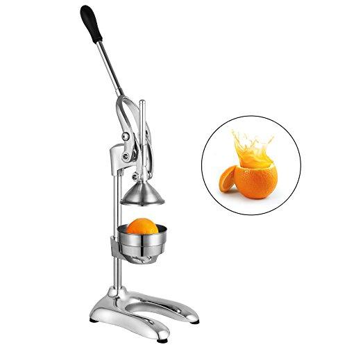 Happybuy Commercial Citrus Juicer Juice Extractor Stainless Steel Citrus Juicer Orange Squeezer Manual Juice Press Citrus Juicer Fruit Juicer For Pomegranates Limes Oranges Lemons Citrus Juicer
