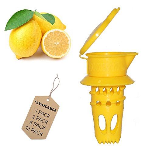 EcoJeannie Citrus Tap Lemon Juicer Faucet Patent Pending Lime Squeezer Juice Extractor