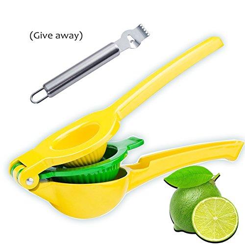 Manual Lemon Squeezer Press E-wor Premium Citrus Press-2 In 1 LemonLime Juicer