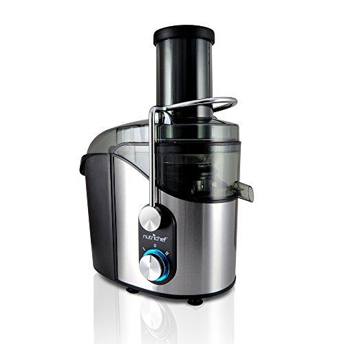 NutriChef High Power Juice Extractor Juicer 800 Watt Stainless Steel