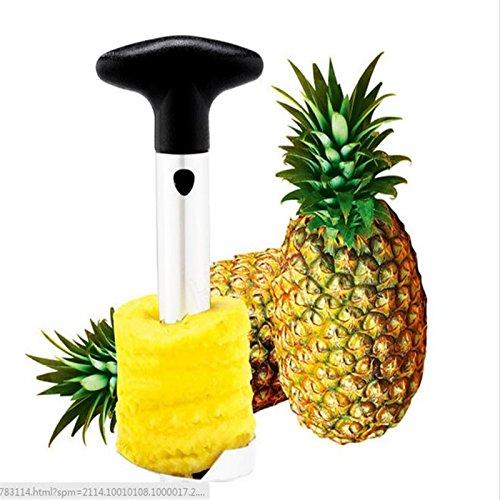 LingStar Kitchen Tool plastic Fruit Pineapple Peeler Corer Slicer Cutter Kitchen Easy Pineapple Slicers