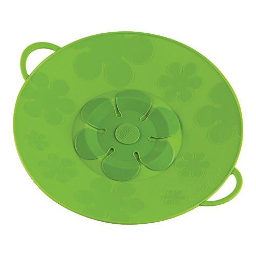 Kuhn Rikon Kochblume Spill Stopper 11-Inch Green