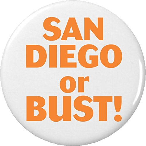 San Diego or BUST 225 Bottle Opener w Keyring