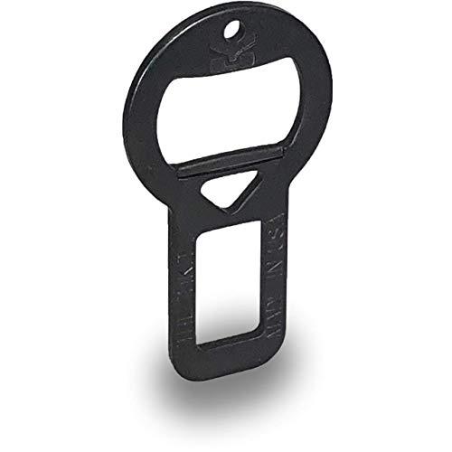 Bottle Opener by Tikit  Attachable Keychain Bottle Opener Stealth