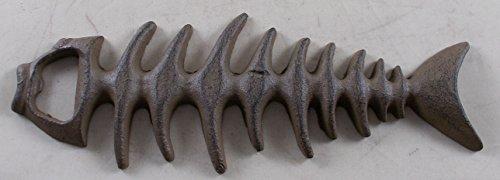 Cast Iron Fish Skeleton Bottle Opener