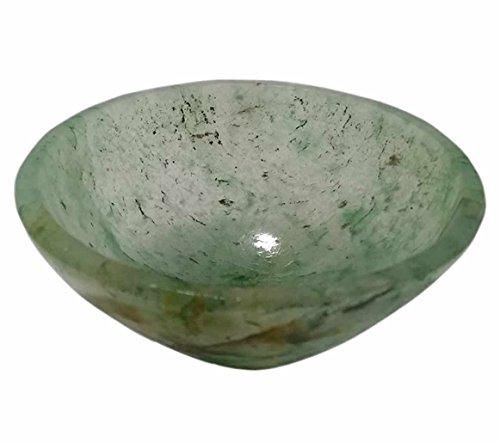Natural Genuine Green Aventurine Gemstone Bowl - Top Quality A Grade