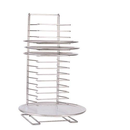 Adcraft Pizza Tray Rack Chrome-Plated Steel 15 Shelf 6 lbShelf 27H - one rack