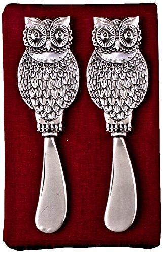 Thirstystone N181 Cheese Spreaders Owl