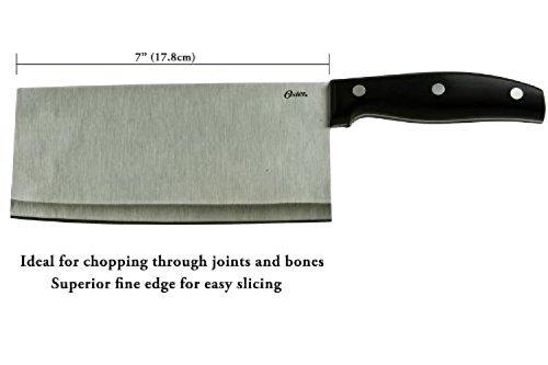 Oster Granger 7 Stainless Steel Cleaver - MeatVegetable Cleaver
