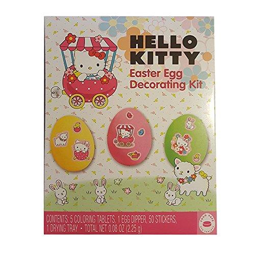 Hello Kitty Easter Egg Decorating Kit