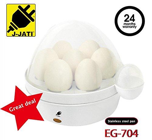J-JATI Egg boiler electronic machine boils eggs white EG704