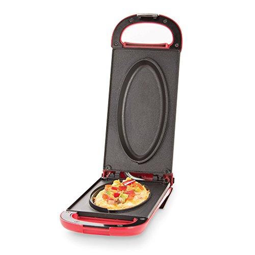 Dash DOM001RD Nonstick Omelette Maker Red