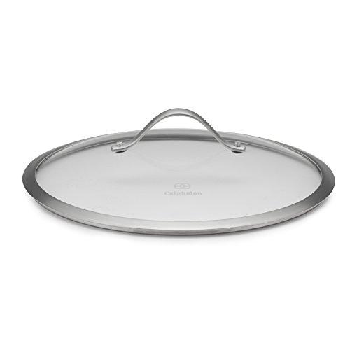 Calphalon Contemporary Hard-Anodized Aluminum Nonstick Cookware Lid 12-inch Glass