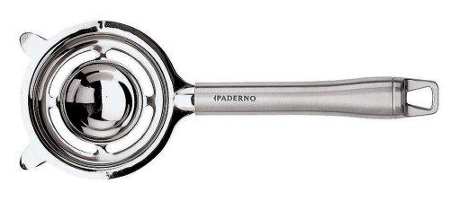 Paderno World Cuisine 8-78-Inch Long Stainless Steel Egg Separator