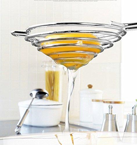 Stainless Steel Egg White Separator Yolk Separator Egg Divider Kitchen Tool Food Grade Safe 2558