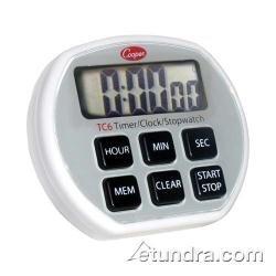 Cooper Atkins Digital Timer  Clock  Stopwatch w Splashproof Case